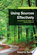 Using Sources Effectively