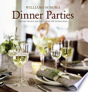 Williams Sonoma Entertaining  Dinner Parties