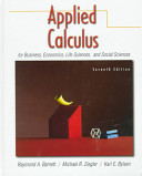 Applied Calculus for Business  Economics  Life Sciences  and Social Sciences