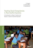 Teaching Social Competencies in Post Conflict Societies