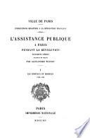 L'assistance publique à Paris pendant la Révolution