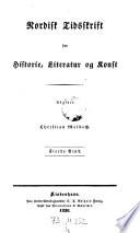 Nordisk Tidskrift for Historie, Literatur og Kunst
