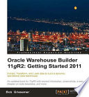 Oracle Warehouse Builder 11G R2