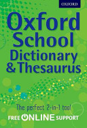 Oxford School Dictionary   Thesaurus