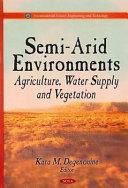 Semi Arid Environments book