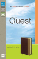 NIV Quest Study Bible  Personal Size