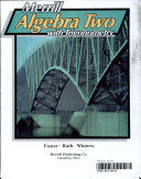 Algebra Two With Trigonometry