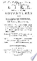 The Life And Strange And Surprising Adventures Of Robinson Crusoe book