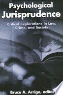 Psychological Jurisprudence