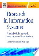 Research in Information Systems