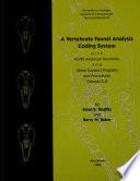 A Vertebrate Faunal Analysis Coding System