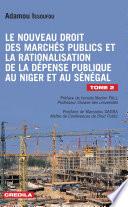 Le Nouveau Droit Des March S Publics Et La Rationalisation De La D Pense Publique