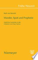 Wunder, Spott und Prophetie