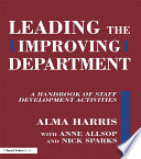 Leading the Improving Department