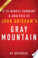 download ebook gray mountain by john grisham - a 15-minute summary & analysis pdf epub