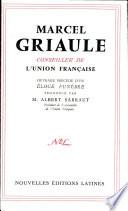 Intervention a L Assemblee de L Union Francaise Griaule M