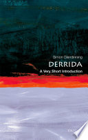 Derrida  A Very Short Introduction