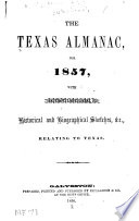 Texas Almanac And State Industrial Guide : ...