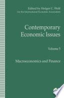 Contemporary Economic Issues