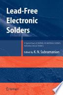 Lead-Free Electronic Solders Health Has Been Known For Decades Very