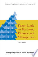 Fuzzy Logic For Business Finance And Management