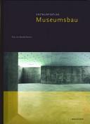 Entwurfsatlas Museumsbau