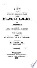 A View of the Past and Present State of the Island of Jamaica