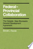 """""""Federal-Provincial Collaboration"""" Cover"""