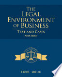 The Legal Environment of Business  Text and Cases