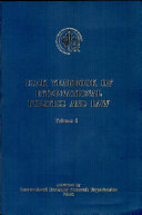 USAK Yearbook of International Politics and Law