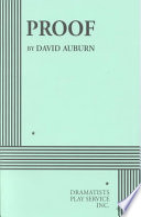 Proof by David Auburn