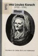Anna Louisa Karsch (1722-1791)