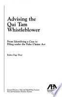 Advising the Qui Tam Whistleblower