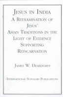 Jesus In India : supporting reincarnation, this book first examines...