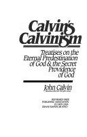 Calvin S Calvinism