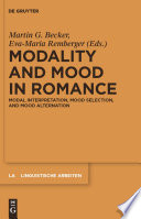 modality-and-mood-in-romance