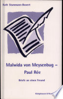 Malwida von Meysenbug   Paul R  e