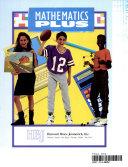 Hbj Mathematics Plus Grade Eight Pupil Edition