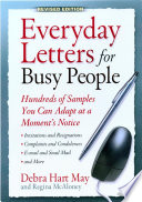 Everyday Letters for Busy People Free download PDF and Read online