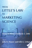 From Little s Law to Marketing Science