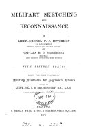 Military sketching and reconnaissance  by F J  Hutchison and H G  MacGregor