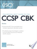 The Official  ISC 2 Guide to the CCSP CBK