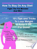 download ebook how to stay on any diet! fight the fat monster & win! pdf epub