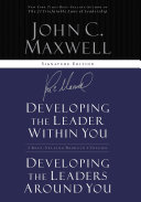 download ebook maxwell 2in1 (developing the leader w/in you/developing leaders around you) pdf epub