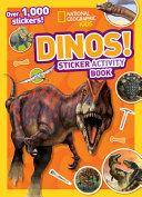Dinos  Sitcker Activity Book