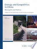 Energy and Geopolitics in China