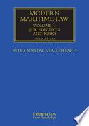 Modern Maritime Law  Volume 1