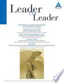 Leader to Leader  LTL   Winter 2011