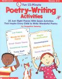 Fun 15 Minute Poetry Writing Activities