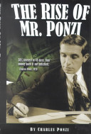The Rise of Mr  Ponzi